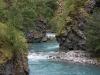 Fluss Utla auf dem Weg zu Vettisfossen