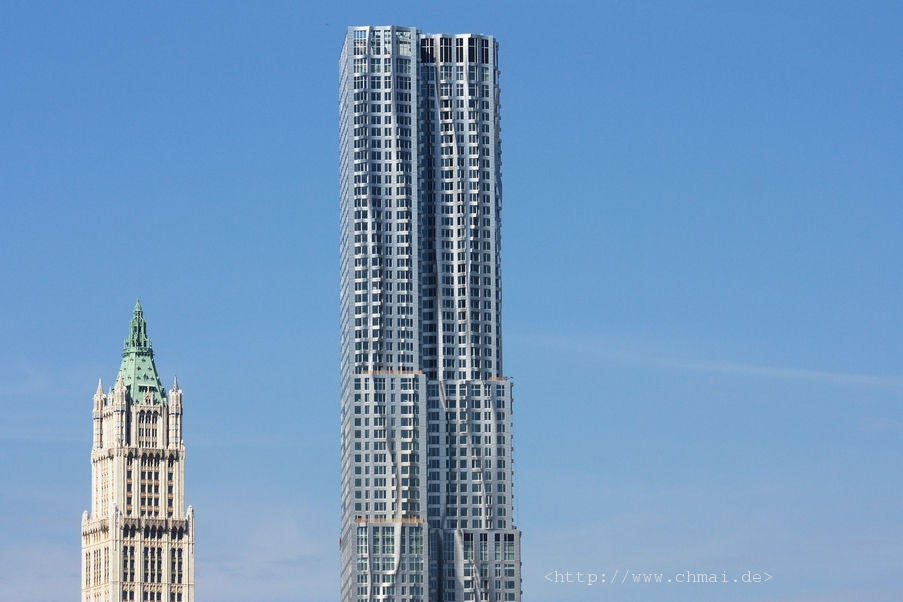 Woolworth Building & 8 Spruce Street