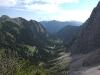 Blick vom Gipfel des Schartschrofen ins Raintal