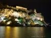 Der Hafen von Lipari bei Nacht
