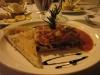 Gemüselasagne mit selbst gebackenem Fladenbrot im Essence Arenal