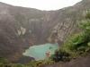 Der grüne See im Vulkan Irazú