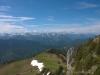 Ausblick von der Tegernseer Hütte
