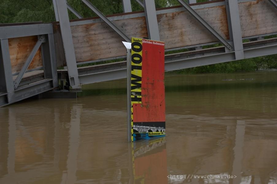 Hochwassermarke von 1988