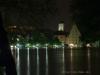 Blick von der Wöhrdstraße bei Nacht