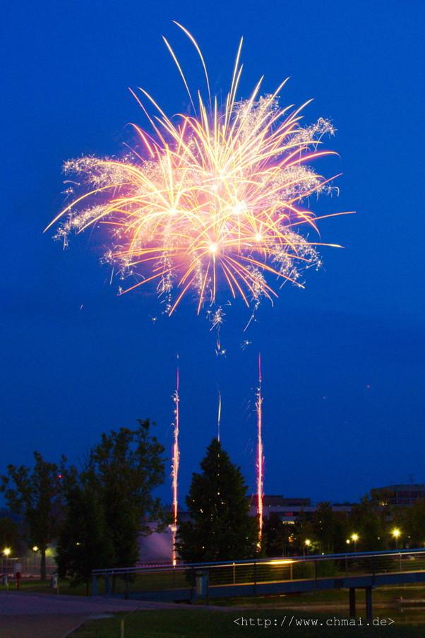 Feuerwerk beim Wiwi Sommerfest 2014