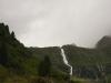 Wasserfall, Neue Regensburger Hütte und unser Gepäck