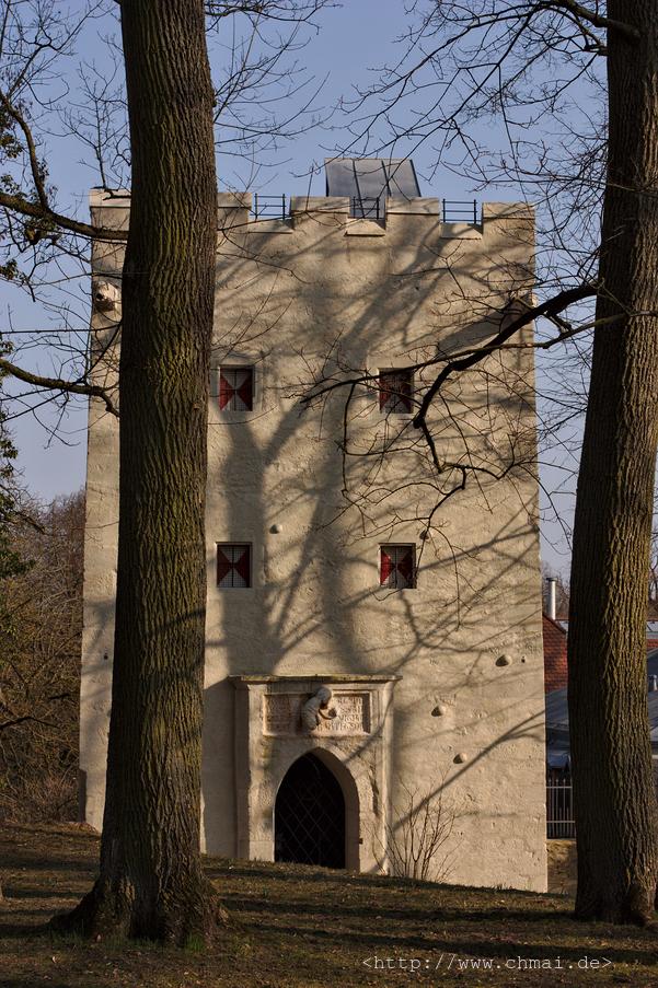 Turm im Herzogspark
