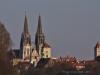 Blick zur Altstadt mit Dom und Rathausturm