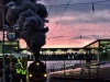 Dampflok 01 180, Patrizier Express, Hauptbahnhof Regensburg