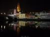 Lichtinstallation am Welterbetag, Steinerne Brücke und Dom