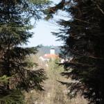 Blick von Süden Richtung Lalling