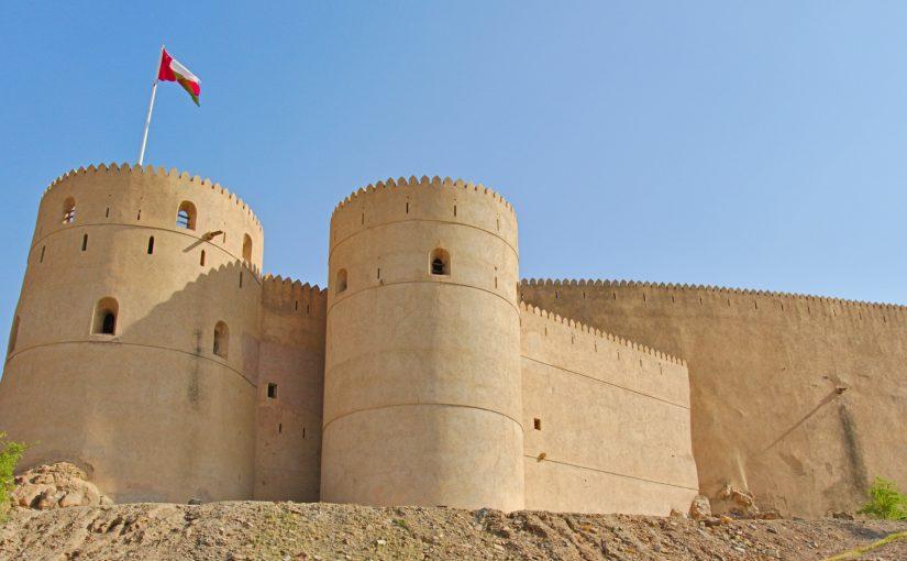Reiseroute durch den Oman