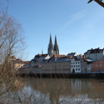 Die Donau und der Dom