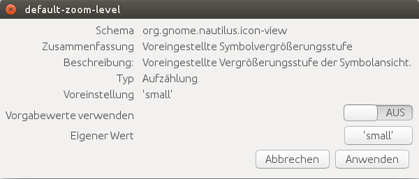 Screenshot dconf-editor